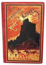 Paul Féval. Les merveilles du Mont St Michel. Ed. Palmé 1879 cartonnage rouge