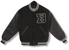 Billionaire Boys Club Quarterback Varisty Jacket Black Sz M! BBC boost coat