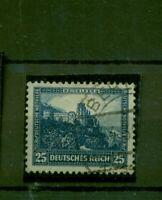 Deutsches Reich, Nothilfe Burgen Nr.461 gestempelt