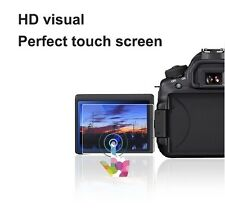 2 Sets HD LCD Screen Protector for Nikon D5600 Monitor Bubble Free Anti-Smudge