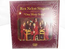 Rex Nelon Singers One More Song LP Record Album Vinyl