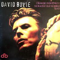 CD SINGLE DAVID BOWIE STRANGERS WHEN WE MEET CARDBOARD SLEEVE RARE COLLECTOR 95