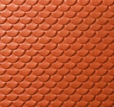 Tetto in Tegole Smerlate rosse 1 100 Nh55235 - noch modellismo