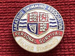 AMATEUR SWIMMING ASSOCIATION PERSONAL SURVIVAL BADGE SILVER AWARD