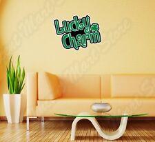 "Lucky Charm Irish Ireland Shamrock Wall Sticker Room Interior Decor 25""""X20"""