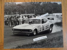 Don Snake Prudhomme Carefree 8x10 Nhra circa 1973 funny car Photo