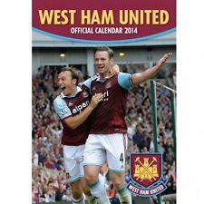 West Ham United FC 2014 Calendar Hammers English Premier League new WHUFC