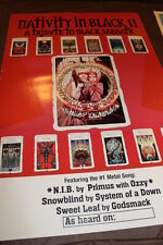 Black Sabbath Tribute to Nativity in Black II Poster D4