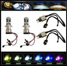 HID Bi Xenon Bulb H4/9003 Hi/Lo Hi Lo 10000K + Relay Harness