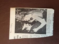 H1b Ephemera 1969 Picture Princess Grace Rainier Monte Carlo Casino Ball