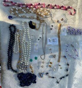 JOB LOT Costume Jewellery 30 pieces