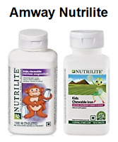 Chewable Iron Counts For Kids By Amway Nutrilite (100 Counts) Choose Flavour