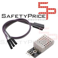 DHT22/AM2302 SENSOR TEMPERATURA HUMEDAD PCB + cable ARDUINO Digital SP