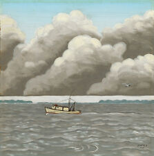 'Shrimp Boat on MS Sound' by Mac Anderson of Shearwater