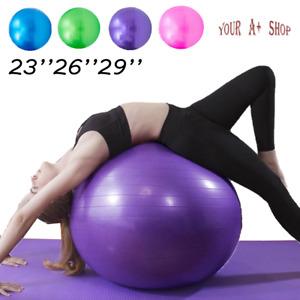 Arteesol 55cm Gymnastikball Pilates Yoga Ball Anti Burst Mit Luftpumpe Sportball
