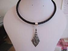 Handmade Diamond Choker Costume Necklaces & Pendants