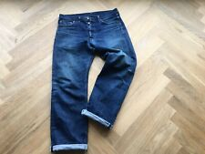 REAL MCCOYS DENIME Salvage salvedge Denim 178 JEANS SIZE 34x36 MADE IN JAPAN