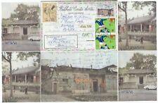 Macau aerogramme to GB. Postal Stationery. 1990