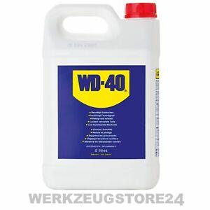 WD40 Multifunktionsprodukt im 5 Liter Kanister Kriechöl Rostlöser Vielzwecköl