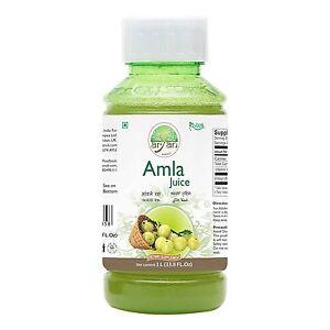 Aryan Gooseberry Amla  Juice 1Litre - Long Expiry Date