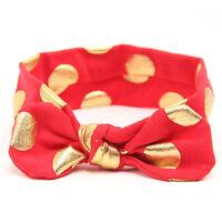 Newborn Headband Ribbon Elastic Baby Headdress Kids Hair Band Girl Bow Knot New