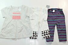 New Listing3pc Mixed Lots Carter's Girls Long Pants Tights Leggings Top 6-9 months New