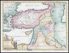 1764 - TURKEY IN ASIA Europe Persia Cyprus Natolia Syria Thomas Jefferys (KWM2)