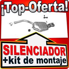 Silenciador Trasero AUDI A4 (B7) 1.9 2.0 TDI SEDÁN FAMILIAR 2004-2008 Escape FJK