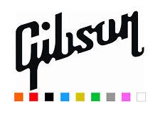 Gibson Guitar Logo Decal Vinyl Les Paul SG Flying V Decal Laptop Car Truck Vinyl
