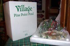 Dept 56 Pine Point Pond #52618 Heritage Village / Retired Nib