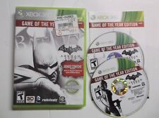 Batman: Arkham City - Game of the Year Edition (Microsoft Xbox 360, 2012)