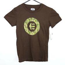 Etnies Acid Fill Womens Size S T-Shirt Tobacco Brown