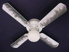 """New Running Wolf Wolves Ceiling Fan 42"""""""