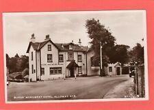 Burns Monument Hotel Alloway Ayr RP pc unused Henderson Ref S242