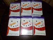 240 Party Express Christmas  Party Invitations new sealed