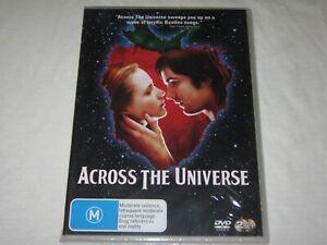 Across The Universe - 2 Disc Set - Brand New & Sealed - Region 4 - DVD