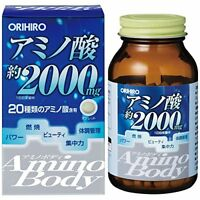 ORIHIRO Amino Body soybean peptide 250 tablets supplement From Japan