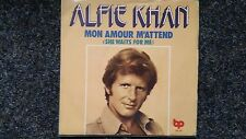 """Alfie Khan-mon amour M 'attend 7"""" single sung in English"""