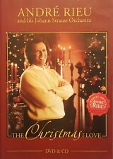 ANDRÉ ANDRE RIEU: The CHRISTMAS I LOVE DVD + CD And His Johann Strauss Orchestra