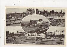 Bognor Regis Vintage Multiview Postcard 656a