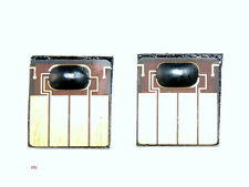 Resetted 1 set of HP 940 (C4900A) Black/ Yellow Cyan/magenta Printhead chips