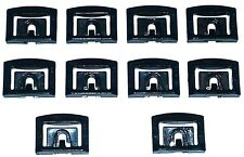 79-96 Ford Front Windshield Rear Window Moulding Molding Trim Clip Clips 10pc VV