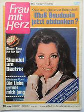 Frau mit Herz 20/1971, Marianne Koch, Paul Hörbiger, Gilbert Becaud,