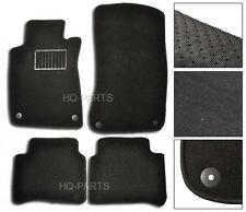 FIT FOR 2003-2009 MERCEDES BENZ W211 E-CLASS BLACK NYLON CARPET FLOOR MATS