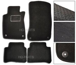 FIT FOR 2003-2009 MERCEDES BENZ W211 E-CLASS BLACK NYLON CARPET FLOOR MATS