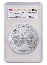 2011-P Chickasaw 5 oz. Silver ATB PCGS SP69 Mercanti Beautiful Parks SKU55278