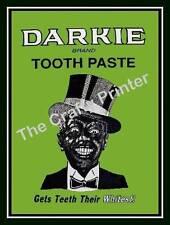 MAGNET - BLACK AMERICANA Vintage Toothpaste Label