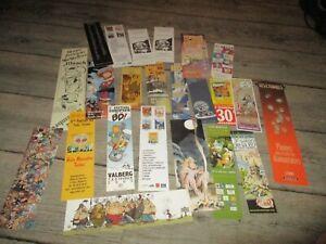 Marque pages-Lot  22 collectors-Bd,festival...(lot 7)