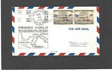 1959 FIRST FLIGHT TEGUCIGALPA,HONDURAS TO MIAMI APR 28-1959 FAM5