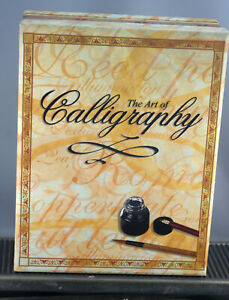 The Art Of Calligraphy Kit Contents Sealed Includes insturction Book
